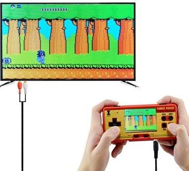 Mini Game Padrão Nintendo 8 Bits 638 Jogos Tela 3