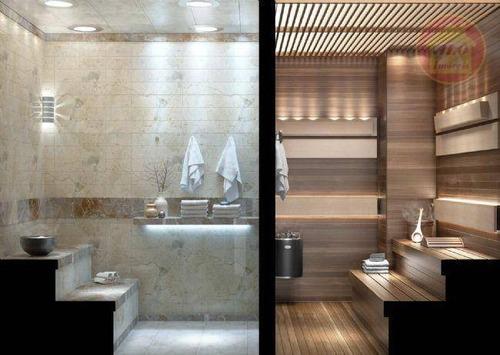 Apartamento À Venda, 136 M² Por R$ 729.716,00 - Canto Do Forte - Praia Grande/sp - Ap5133