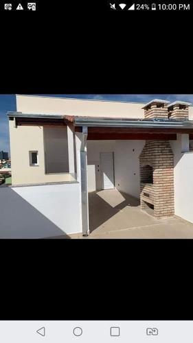 Cobertura À Venda, 82 M² Por R$ 280.000,00 - Parque Capuava - Santo André/sp - Co0857