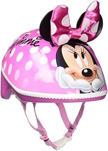 Cascos De Bicicleta Bell Disney Minnie Mouse Para Niños, Niñ