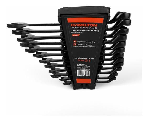 Set De Llaves Combinadas Hamilton Matchpro 8-9-10-11-12-13-14-15-16-17-18-19mm Jcm12