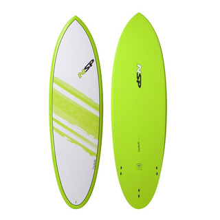 Tabla De Surf Nsp Element Hybrid 6´4 Importada