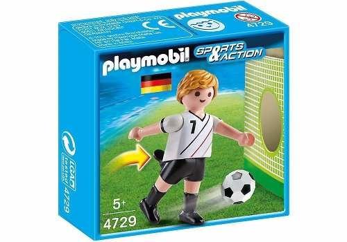 Figura Playmobil Esporte E Ação Jogador Da Alemanha 4729
