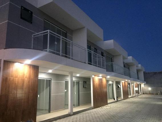 Casa Em Barroco (itaipuaçu), Maricá/rj De 80m² 2 Quartos À Venda Por R$ 220.000,00 - Ca334409