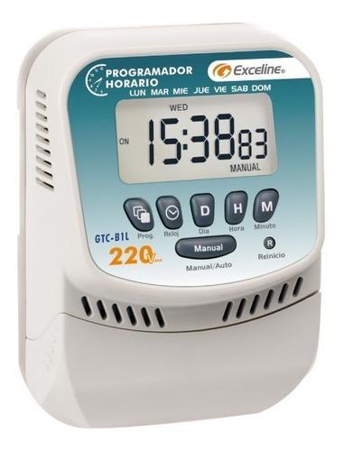 Programador Horario Digital De Bornera Exceline 220v