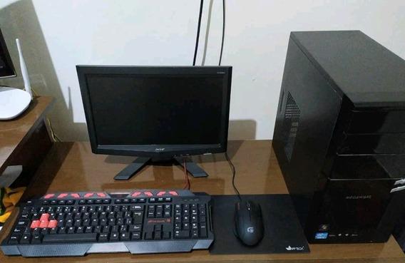 Computador Core I3 2100 6ran+monitor Acer + Teclado E Mouse
