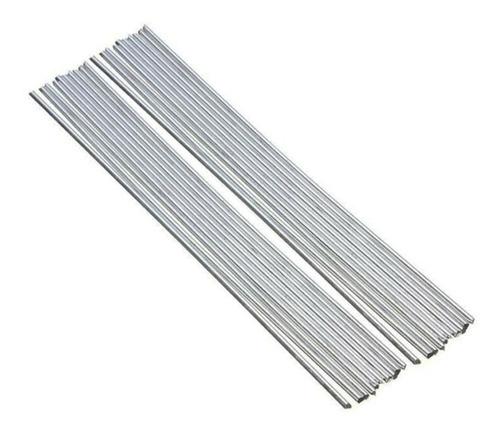 20 Varillas De Soldadura De Aluminio, Núcleo Sólido, No Requ