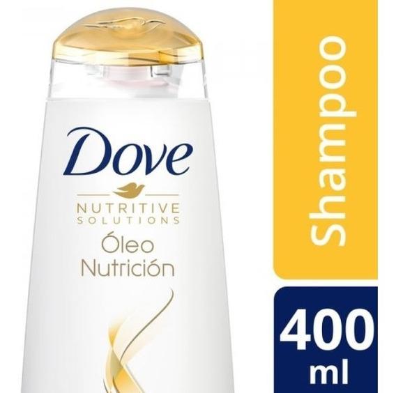 Shampoo Dove Oleo Nutricion 400 Ml.