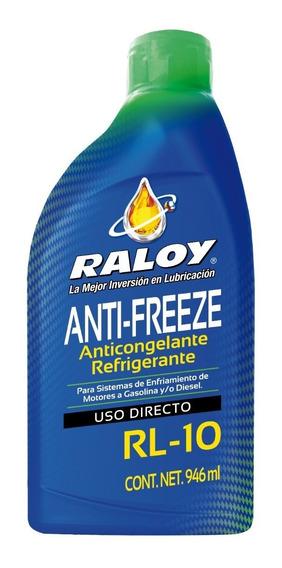 Líquido Refrigerante Antifreeze Rl-10 Raloy Tienda Oficial