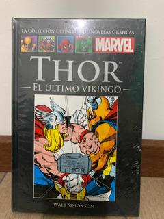 Libro Marvel Salvat Cómics Thor El Último Vikingo