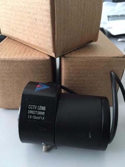 Lente Auto Iris Varifocal 2.8-12mm Para Samsung Scb-2000