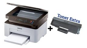 Multifuncional Samsung Laser Sl-m2070w Wi-fi + Toner Extra