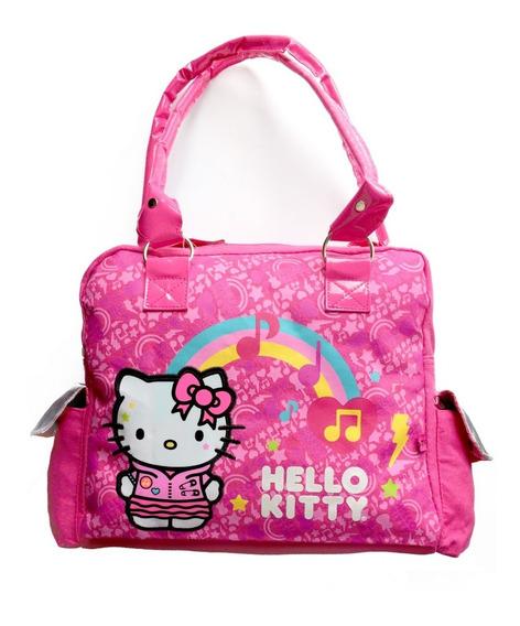 Bolsa Hello Kitty Tipo Mensajero ,bolsas Laterales, Amplia