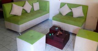 Juego De Muebles Completo Verde Y Licorera/lwiskera