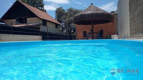 Chácara Com 3 Dormitórios À Venda, 1000 M² Por R$ 910.000,00 - Parque Das Bandeiras - Indaiatuba/sp - Ch0041