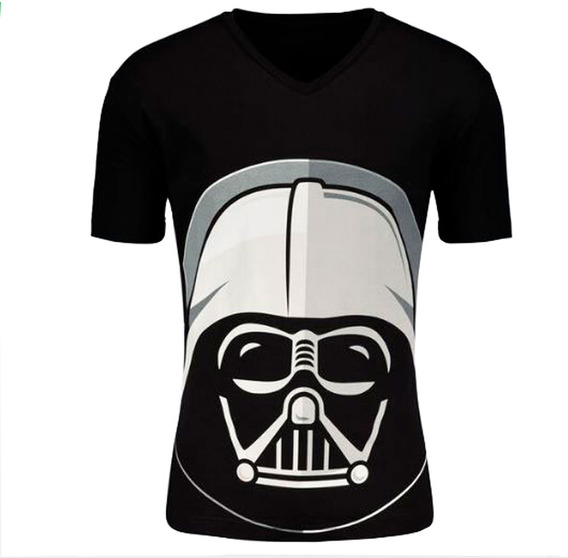 Playera Star Wars Para Hombre Charly Negra Darth Vader Dark