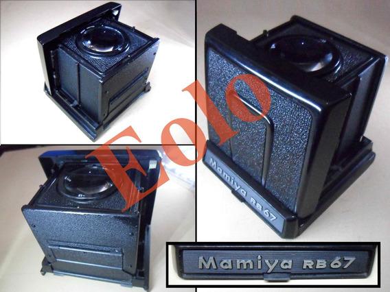 Mamiya Rb67 Mamya Capuchon Visor Waist Level * Finder #