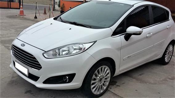 Fiesta Titanium 1.6 Aut. Branco 2017 22 Mil Km
