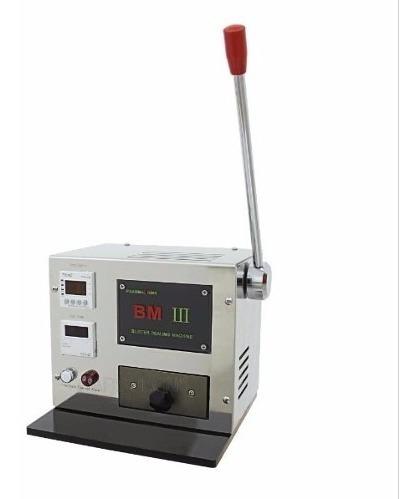Mini Máquina Blister Manual De Sellado De Cápsula Especial