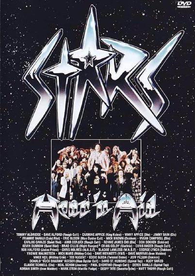 Hear And Aid - Stars - Dvd - Dio - Malmsteen - Halford Iron