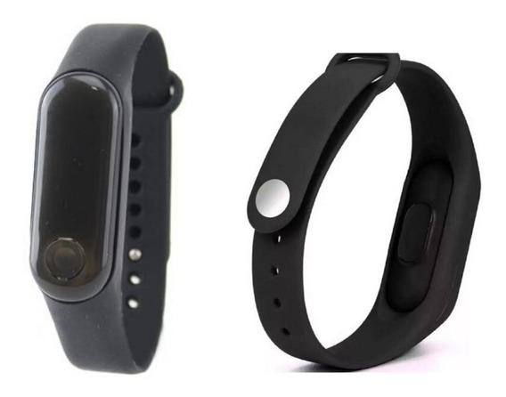 Relógio Bracelete De Led Unissex Casual/esportivo + Caixinha