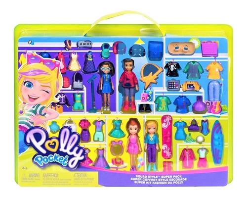 Imagen 1 de 2 de Polly Pocket Super Coleccion De Modas - Mattel Gfr11 Bestoys