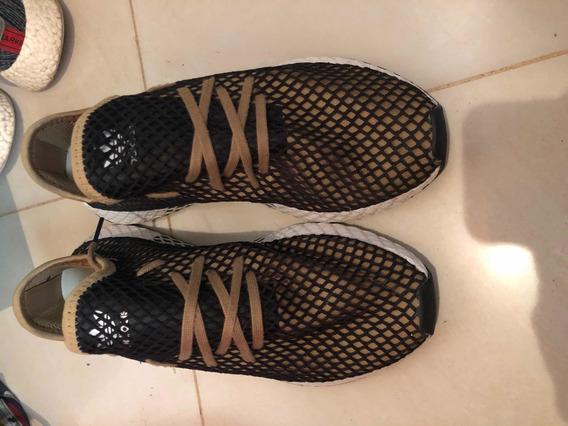 Zapatillas adidas Deerupt Doradas Talle 10,5
