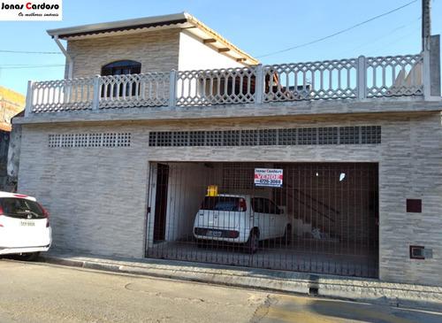 Imagem 1 de 18 de Sobrado A Venda Próximo Ao Centro Da Cidade - Ca00592 - 69805158