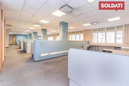 Oficina A La Venta Piso 6 Microcentro Muy Luminosa