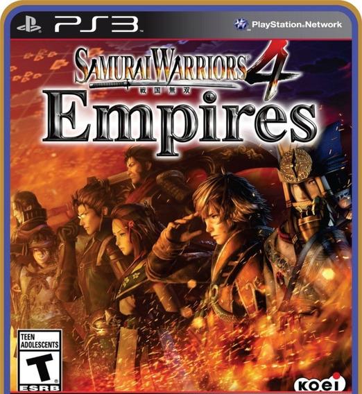 Samurai Warriors 4 Empires - Ps3 Psn Mídia Digital