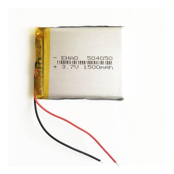 Bateria Rastreador 1500 Mah 3,7v Com 2 Fios Lacrada Nova