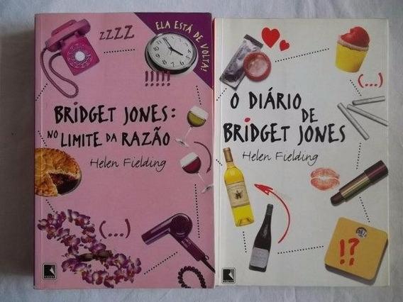 * Livro O Diario De Bridget Jones Limite Da Razao 2 Volumes