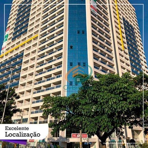 Studio Com 1 Dormitório À Venda, 37 M² Por R$ 310.000,00 - Centro - Guarulhos/sp - St0048