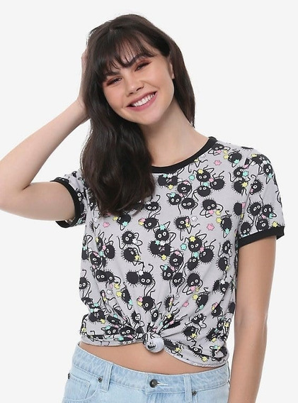 Blusa Playera Spirited Away Totoro Athletic