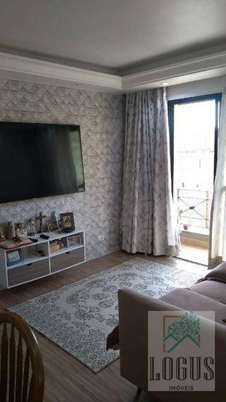 Apartamento Com 50m² Todo Mobiliado - Irajá Em São Bernardo Do Campo/sp - Ap0736