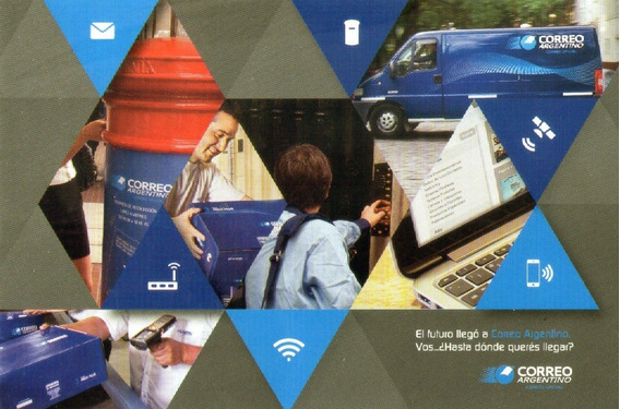 Postal Oficial Correo Argentino - Institucional