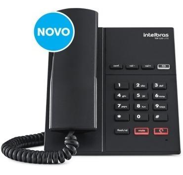 Telefone Intelbras Ip 1conta Voip Tip 120 Lite