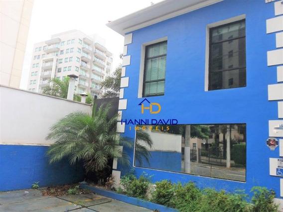 Excelente Casa Comercial Para Locação Na Vila Mariana Com 7 Sala, 6 Vagas - Ca0228