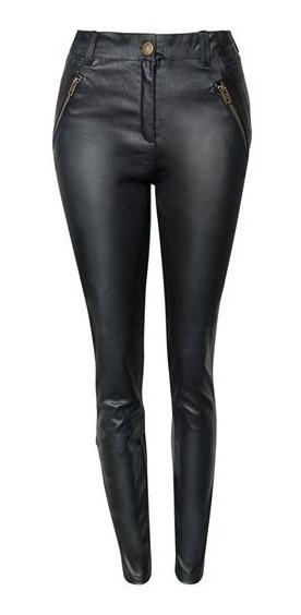 Pantalon Engomado Eco Cuero Talles Grandes Y Especiales