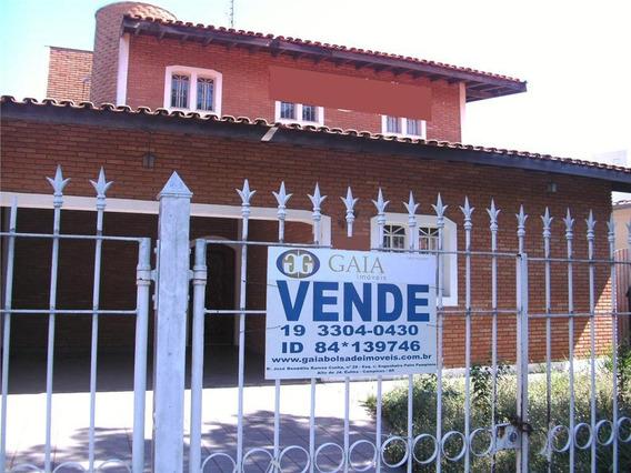 Casa Residencial À Venda, Jardim Do Lago, Campinas. - Ca0940