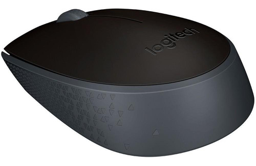 Imagem 1 de 8 de Mouse Sem Fio Logitech M170 Ambidestro Wireless Preto