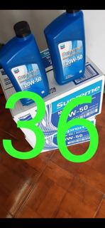 Aceite 20w 50 Mineral Chevron Supreme Por Caja Somos Tienda