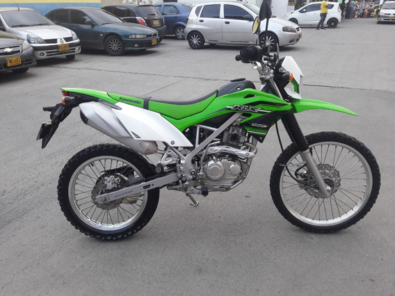 Kawasaki Klx 150 Verde 2016 Con Soat Y Tecno Hasta Sep/2020