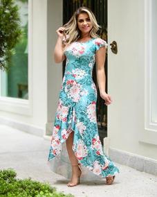 Vestido Feminino Sereia Moda Evangélica Social
