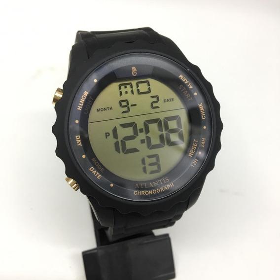 Relógio Atlantis Ronald Original A7457 + Bateria Reserva