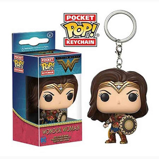 Funko Pop Keychain Wonderwoman