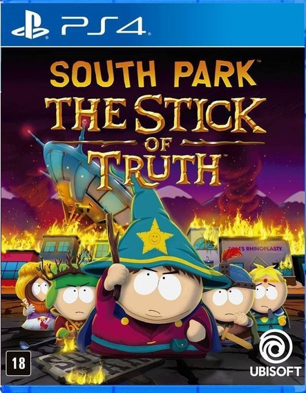 South Park The Stick Of Truth (mídia Física) - Ps4 (novo)