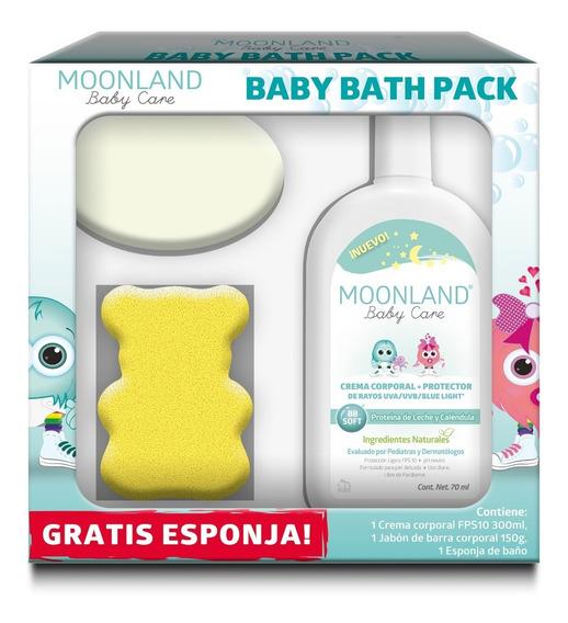 Kit Moonland Crema Bebés Corporal + Prot Uva/uvb Y Bluelight