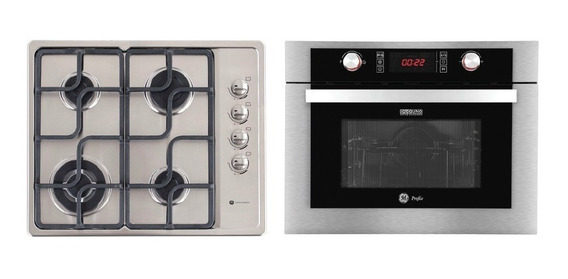 Combo Horno Eléctrico Combi + Anafe A Gas Ge Appliances