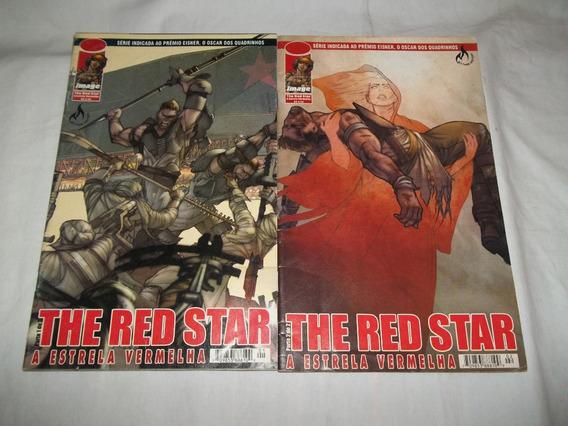 Lote 2 Gibis Hq - The Red Star A Estrela Vermelha 1 E 2 Z27